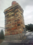 New leadwork on chimney